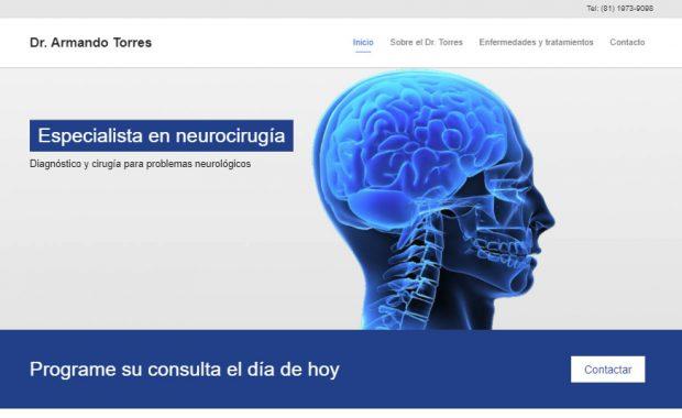 Sitio web - Dr. Armando Torres