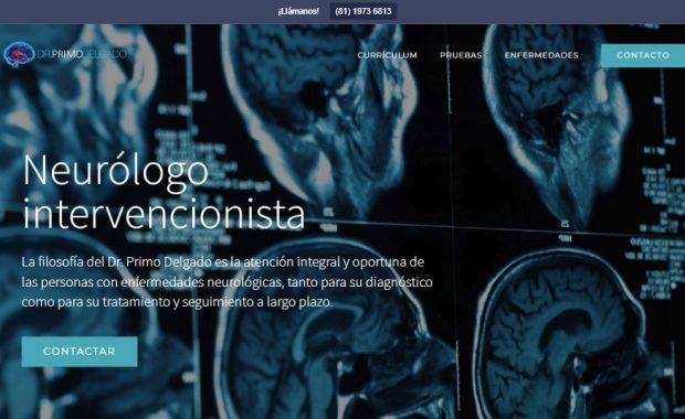 Sitio web - Dr. Primo Delgado