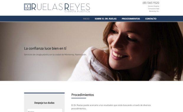 Sitio web - Dr. Ruelas Reyes