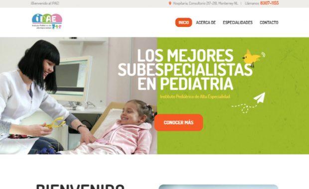 Sitio web - IPAE