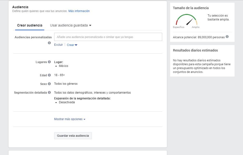 Utiliza la segmentación de Facebook Ads para potenciar tu marketing médico