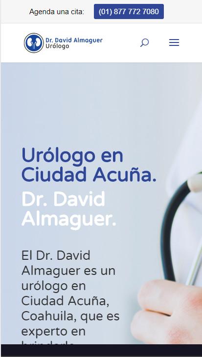 Un buen marketing para médicos hace uso de sitios web adaptables para móviles buena experiencia del usuario