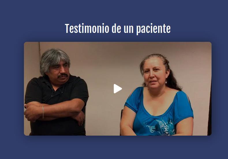 Testimonio de un paciente