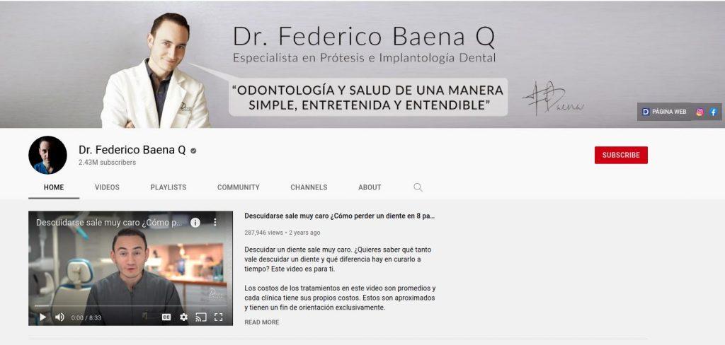 YouTube para profesionales de la salud