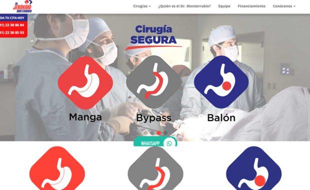 Sitio Web - Dr. Jerónimo Monterrubio