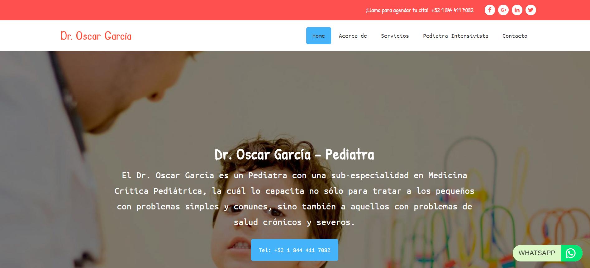 Dr. Oscar García Galvan - Pediatra (Saltillo)