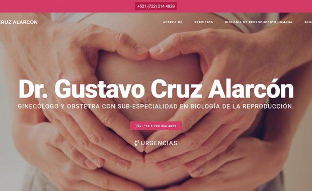 Dr. Gustavo Cruz Alarcón - Ginecólogo