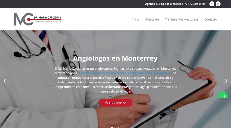 Dr. Mario Cárdenas - Angiólogo