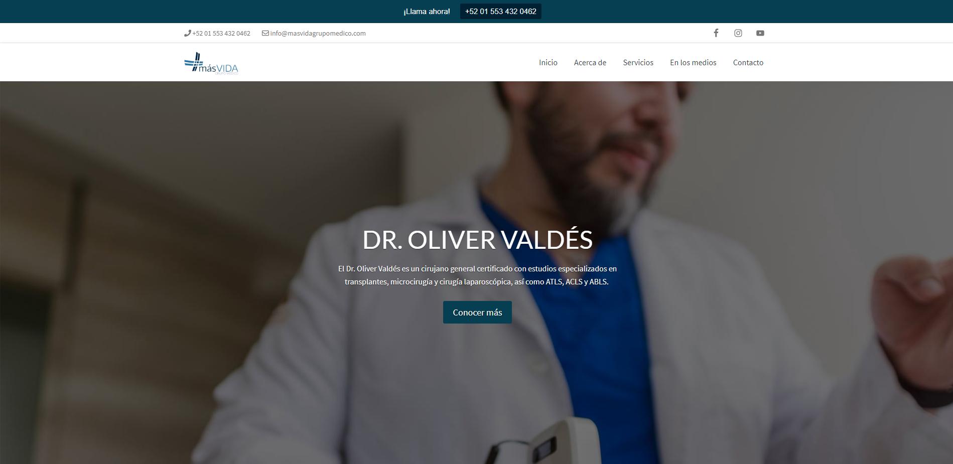 Dr. Oliver Valdés - Cirujano General