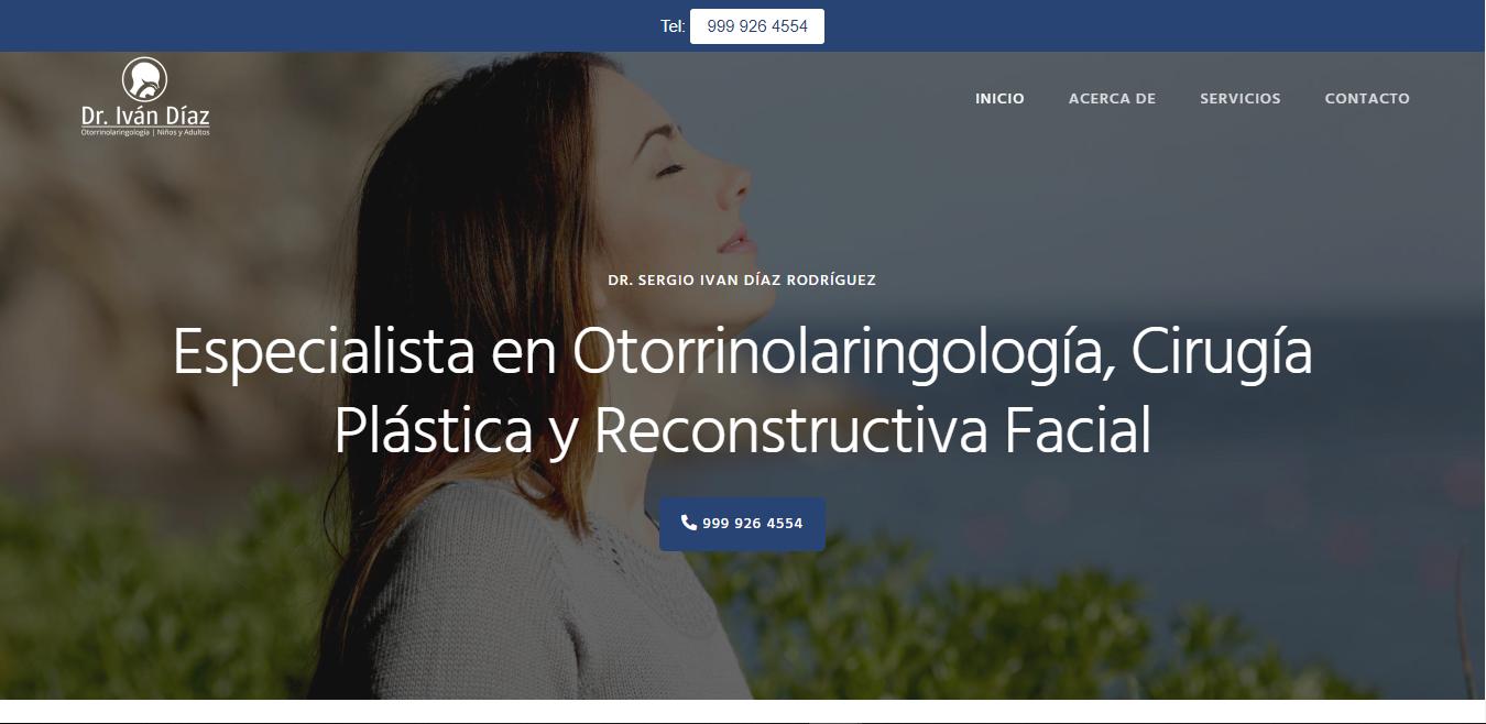 Otorrino en Mérida - Dr. Iván Díaz Rodríguez