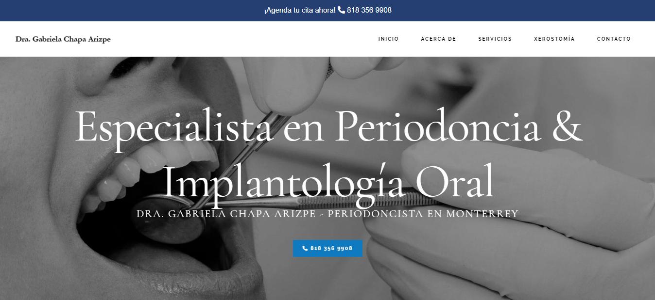 Dr. Gabriela Chapa