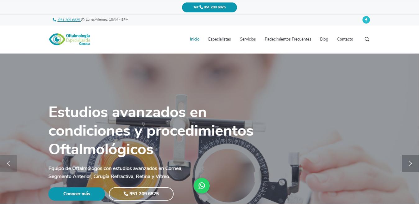 Oftalmólogos en Oaxaca - Oftalmología Especializada Oaxaca
