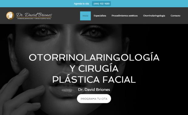 Otorrinolaringólogo en San Luis Potosí - Dr. David Briones