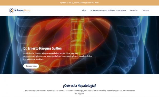 Hepatólogo en CDMX - Dr. Ernesto Márquez Guillén
