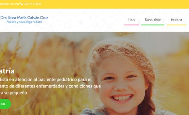 Pediatras en Xalapa - Dra. Rosa María Galván Cruz