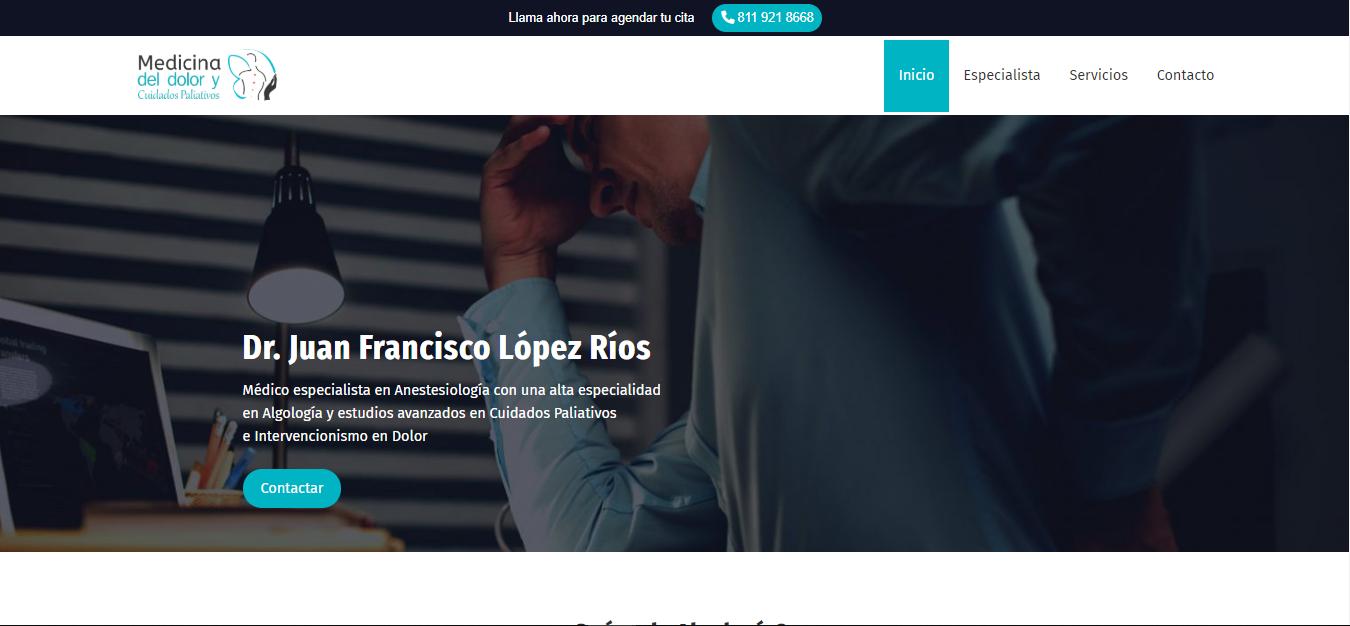 Clínica del Dolor en Monterrey - Dr. Juan Francisco López