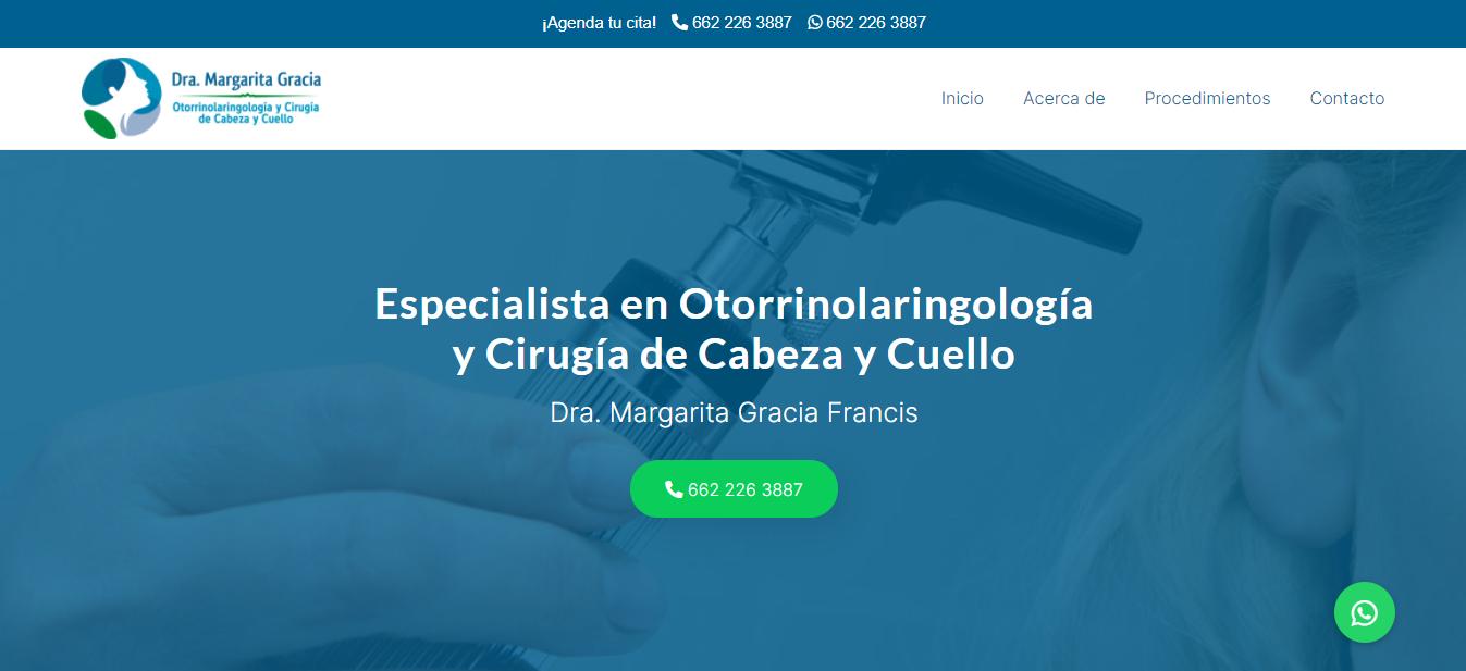 Otorrinolaringologo en Hermosillo - Dra. Margarita Gracia