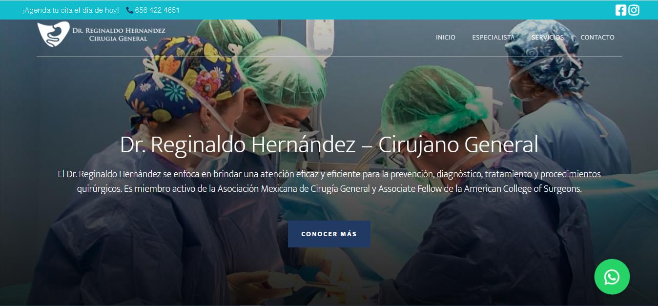 Dr. Reginaldo Hernández - Cirujano General
