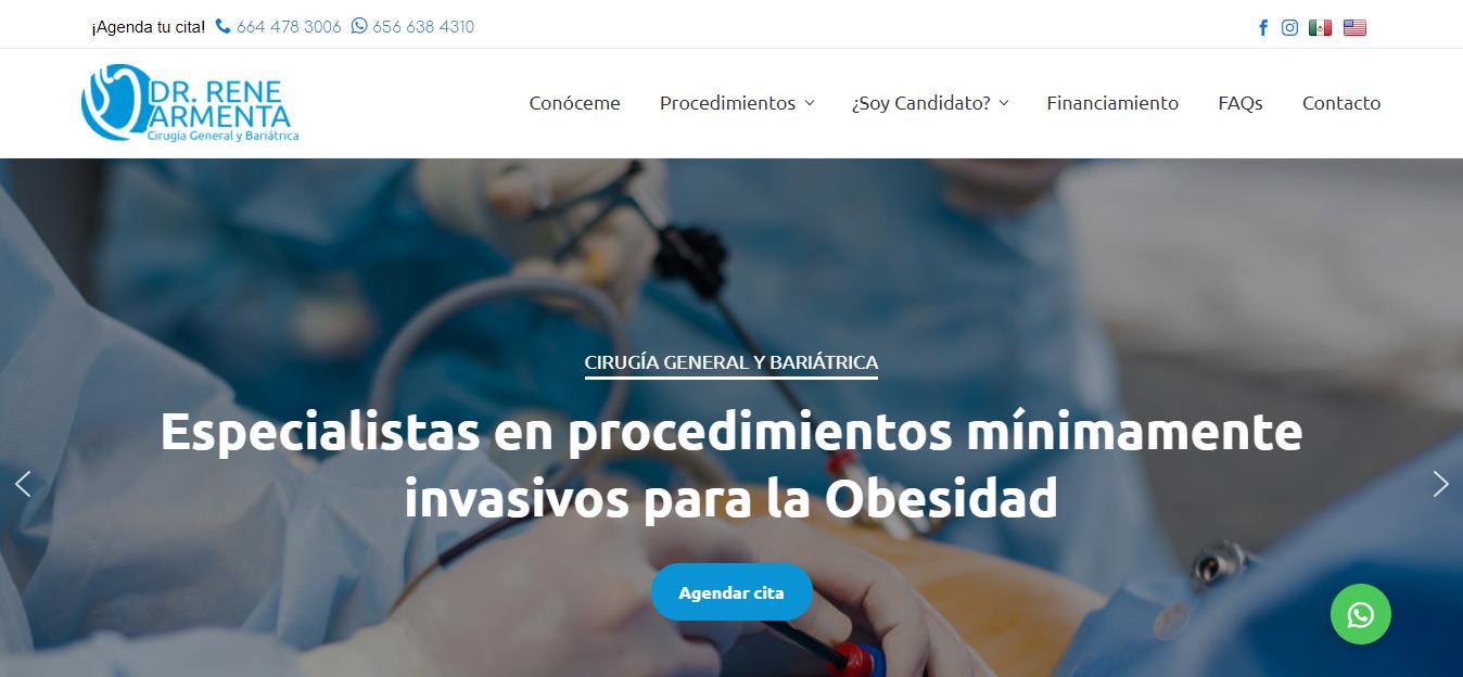 Dr. Rene Armenta - Cirugía General y Bariátrica