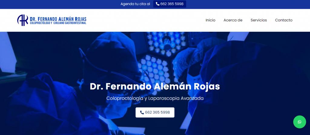 Proctólogo en Hermosillo - Dr. Fernando Alemán Rojas