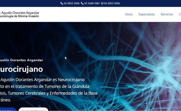 Neurocirujano en CDMX - Dr. Agustín Dorantes Argandar