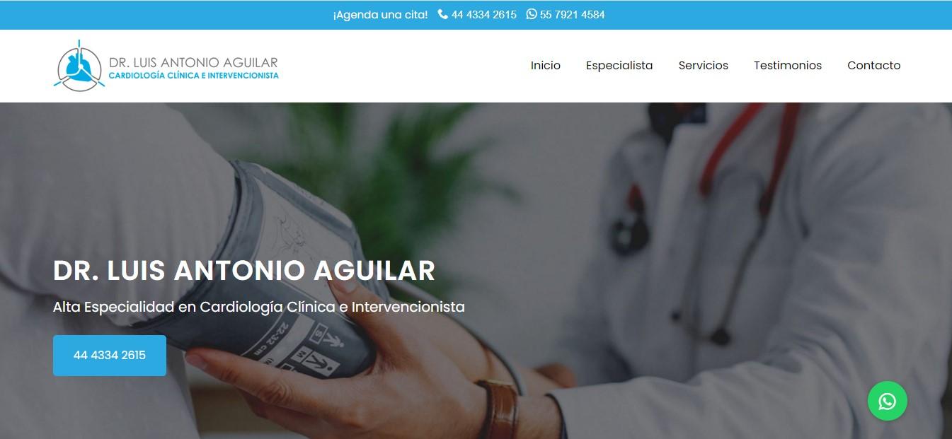 Cardiólogo en San Luis Potosí - Dr. Luis Antonio Aguilar Rojas