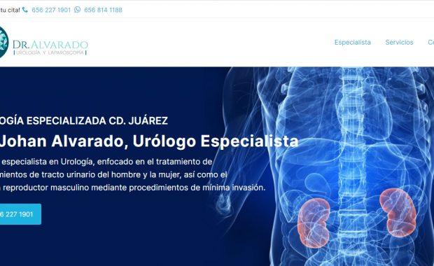 Urólogo en Cd. Juárez - Dr. Johan Alvarado Alvarado