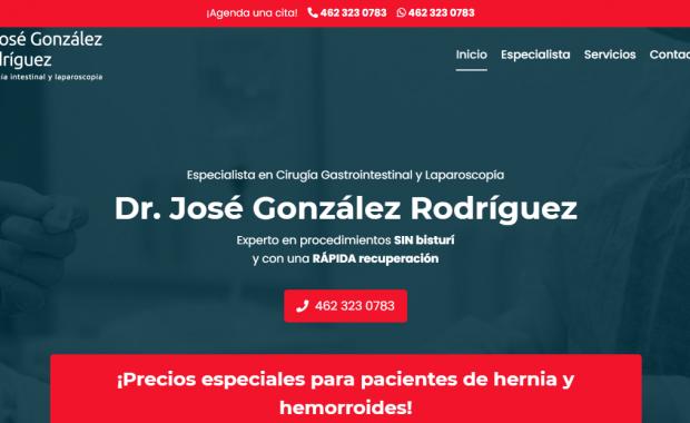 Cirujano general en Irapuato - Dr José González
