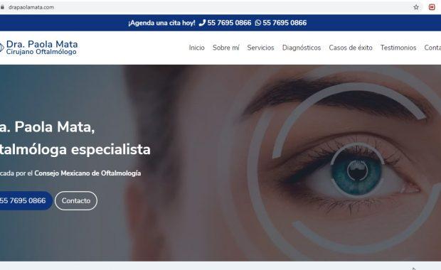 Oftalmólogo en Coacalco - Dra. Paola Ozcevely Mata Rodriguez