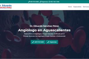 Angiólogo en Aguascalientes - Dr. Eduardo Sánchez Pérez